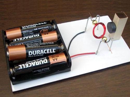 Electrical Engineering Simple Electric Motors