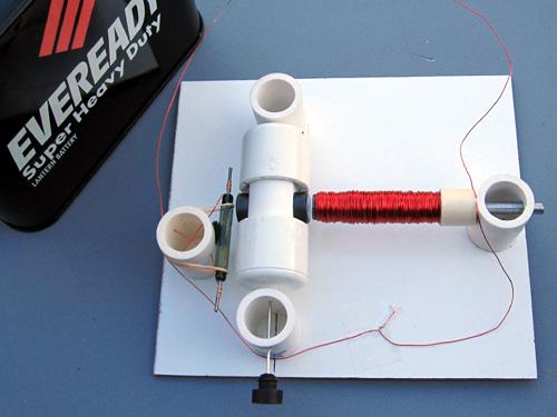 Mechanical Engineering Simple Electric Motor