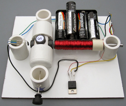 Williston school of science math and technology shaffer for How does a simple motor work